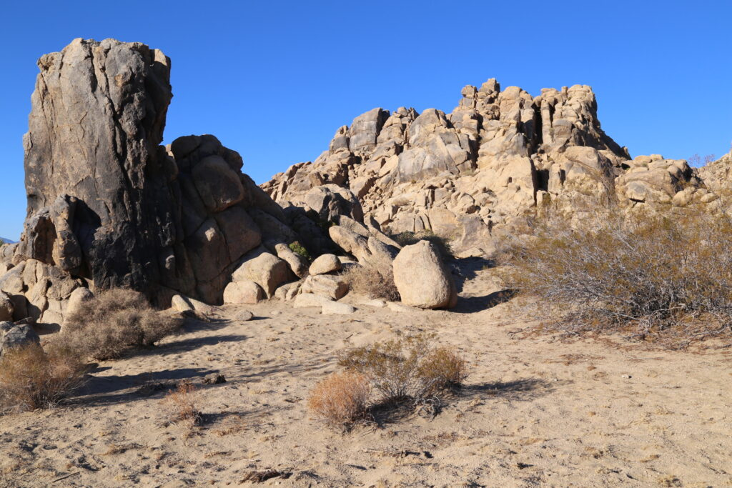 No. side of Danger Rock