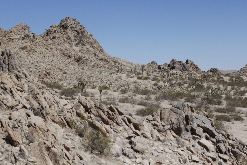 North view of Main Range